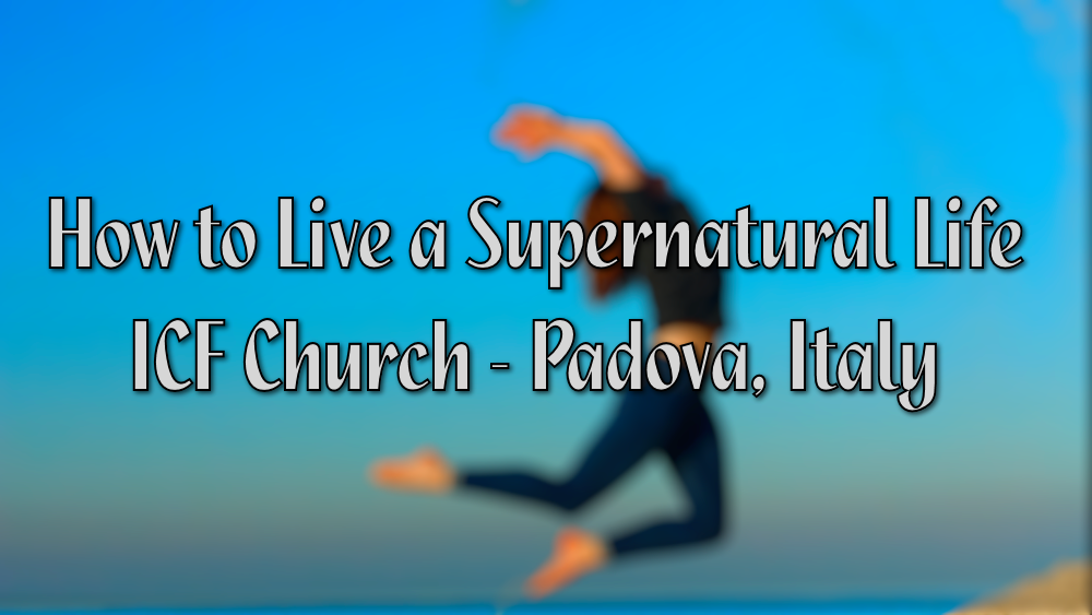 How to Live a Supernatural Life Image