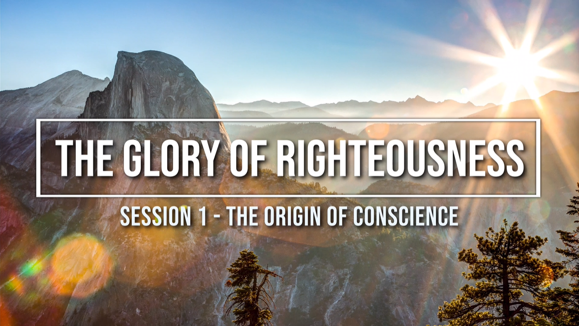 Session 1 - The Origin of Conscience Image