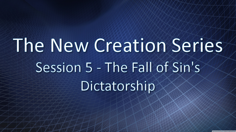 Session 5 - The Fall of Sin's Dictatorship Image