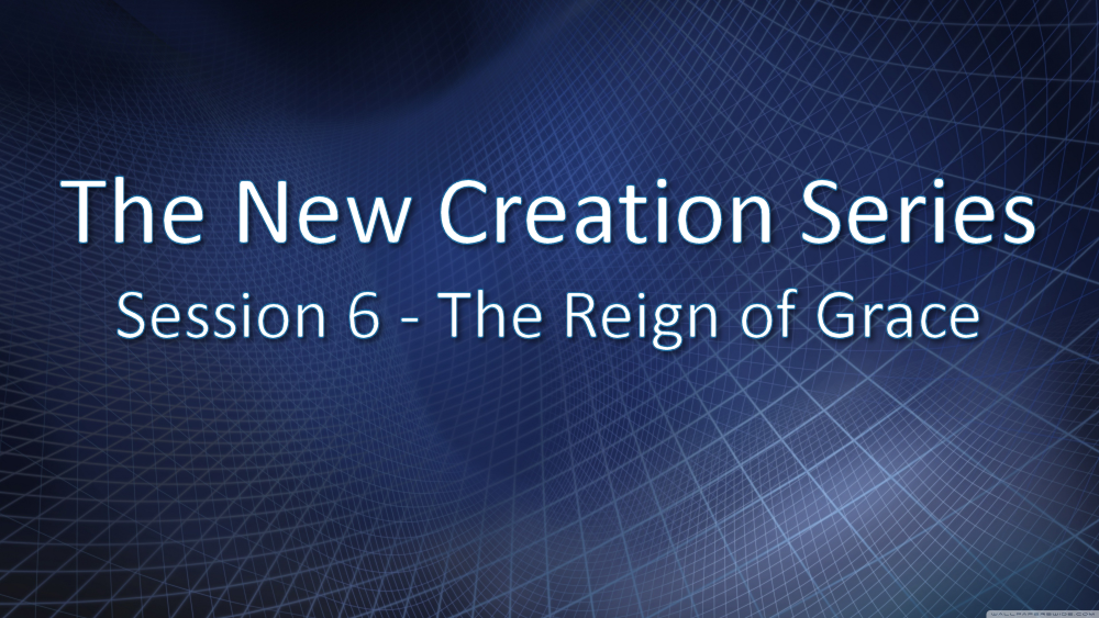 Session 6 - The Reign of Grace Image
